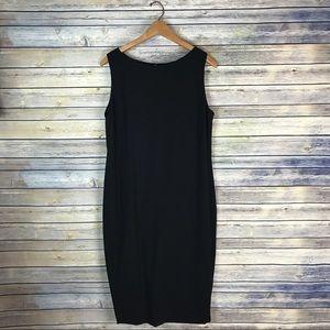 Lauren Ralph Lauren Black Wool Sheath Dress