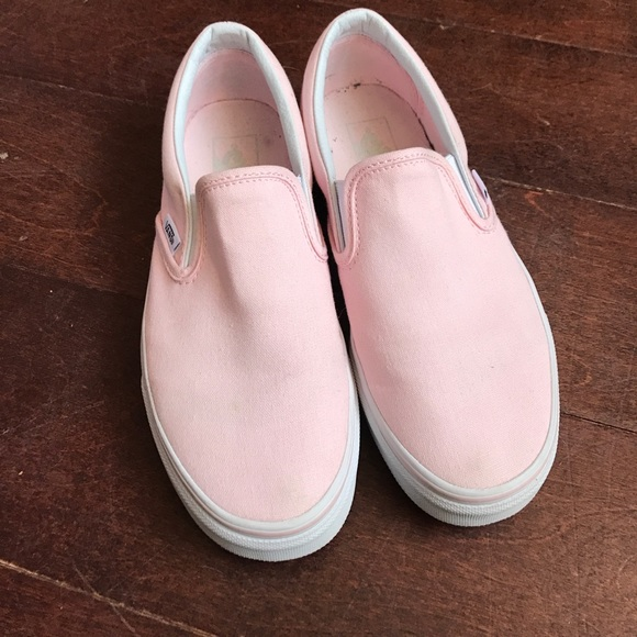 Ballerina Pink Classic Slip Ons
