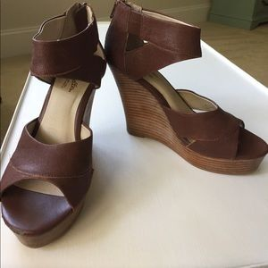 Seychelles Shoes - Seychelles brown wedges