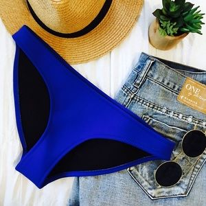 triangl swimwear Other - NWOT • Neoprene Royal Blue Bikini Bottom