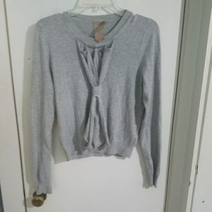 Twelve by Twelve Sweaters - Unique gray sweater