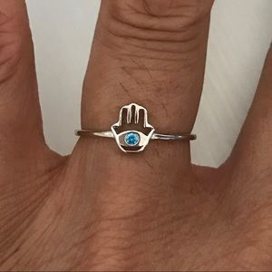 Jewelry - Sterling Silver Tiny Hand of God Ring