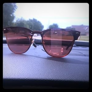 Ray Ban Rose Gold Brand New