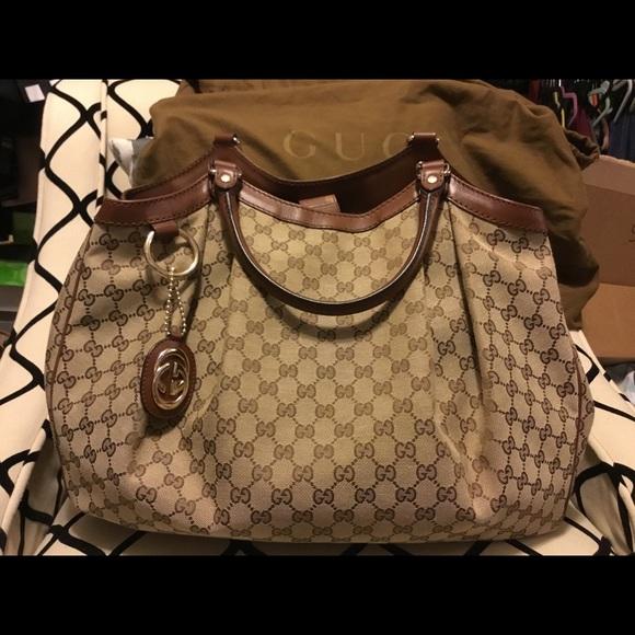 Gucci Handbags - 💯 AUTHENTIC Gucci Sukey Large purse
