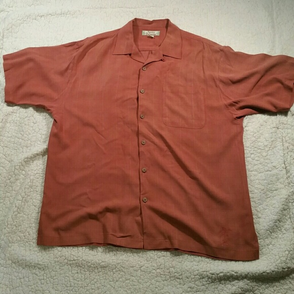 Tommy bahama tommy bahama 100 silk hawaiian shirt for Tommy bahama florida shirt