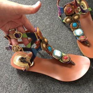 Apple Bottoms Shoes - jewels sandals