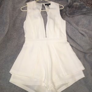 ANGL Pants - White Angl Romper Size Large