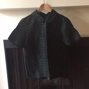Madewell / Boxy Striped Collar Shirt / Small