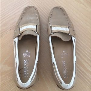 Geox Shoes - Geox Respira tan loafers