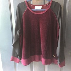 Two by Vince Camuto Tops - Vince Camuto Wine Sweater/Top