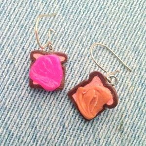 Claire's Jewelry - NEW Pb&j earrings