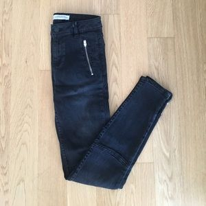 Zara 'The Cycler' Mid Rise Jeans