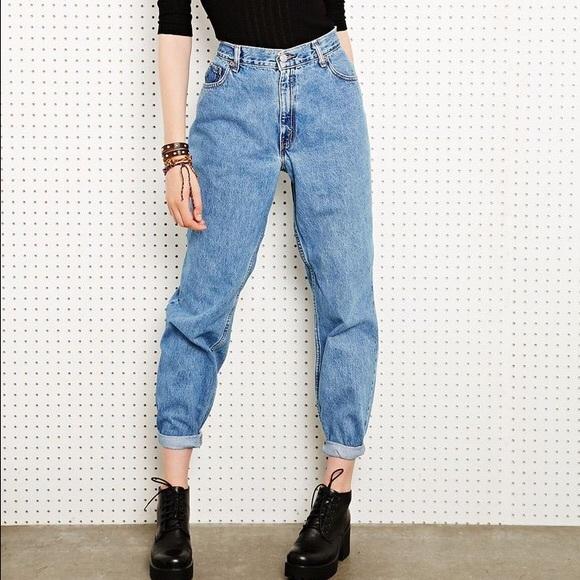 levi 39 s flash sale vintage levi 39 s 550s mom jeans. Black Bedroom Furniture Sets. Home Design Ideas