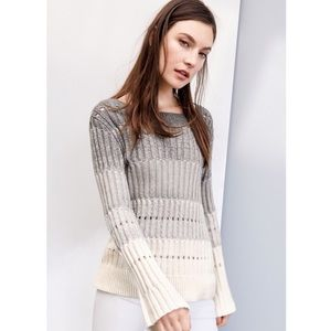 Vince Camuto Ombré Bell Sleeve Sweater