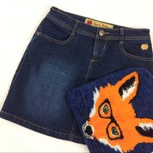 Apple Bottoms Denim - Apple Bottom Jeans Mini Skirt