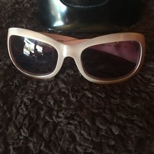Genuine rare color Fendi sunglasses and case sale
