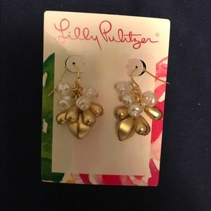NWT Lilly pulitzer earrings