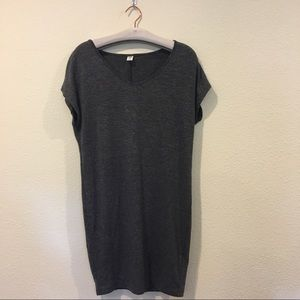 Old Navy Dresses & Skirts - Old navy gray short sleeve tunic dress