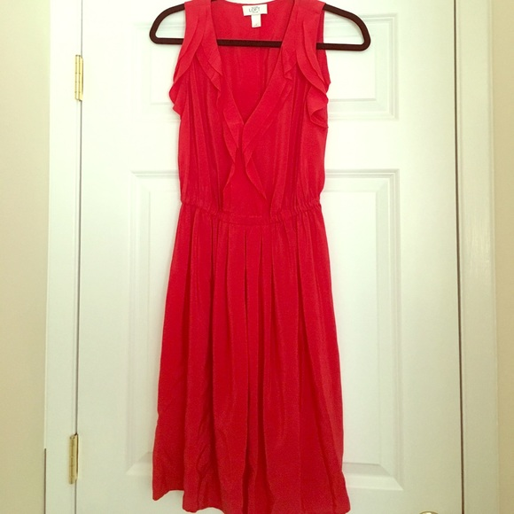 85 off loft dresses skirts loft silk red dress size 2 for The loft dresses for a wedding
