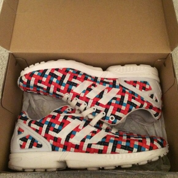 best sneakers 26690 5dba8 Adidas ZX Flux Woven