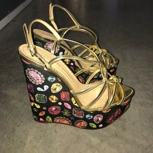 Charlotte Olympia Shoes - Charlotte Olympia wedge