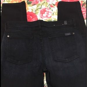 7 For All Mankind Skinny Jeans- Size 32