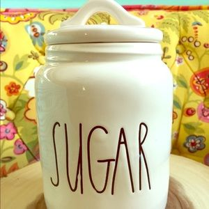 Rae Dunn Other - Rae Dunn Sugar Canister Stoneware Big Letter
