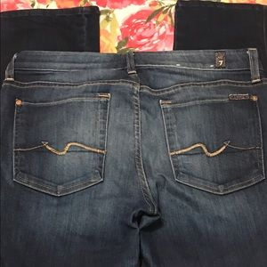 7 For All Mankind Kimmie Straight Leg Jean Size 31