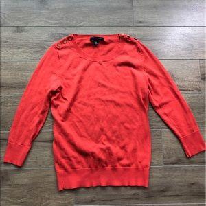 Banana republic long sleeves sweater top Crewneck