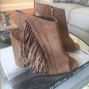 ShoeDazzle Shoes - :: fringe ankle booties ::