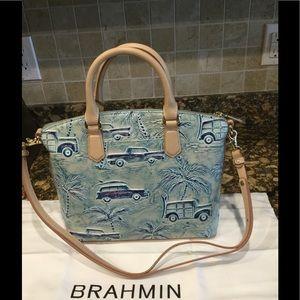 Brahmin Handbags - Brahmin Satchel-Sky-Copa-Cabana-with-Dust-Bag