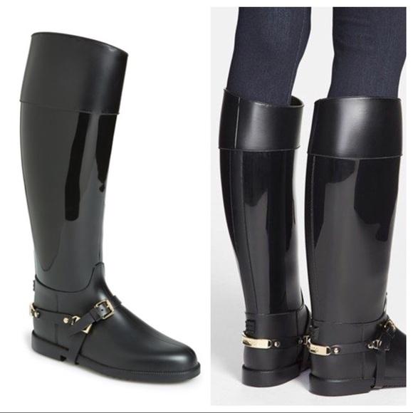 c29eefae51 Jimmy Choo Shoes | Cheshire Stirrupstrap Rain Boots | Poshmark