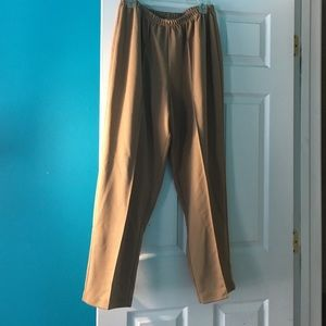 Pants - Tan Pleated Pants