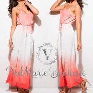 ValMarie Boutique LLC Dresses & Skirts - Sunset Ombré Maxi Dress