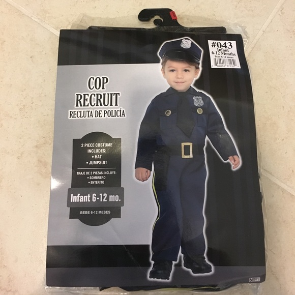 Party City Costumes Baby Police Officer Halloween Costume Poshmark
