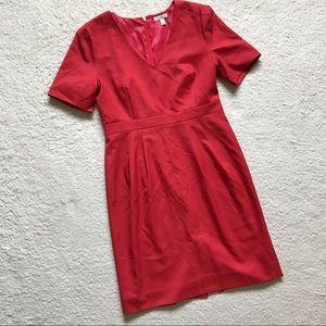J. Crew Dresses & Skirts - J. Crew Memo Dress in Super 120s Merino Wool Coral