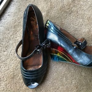 Poetic licence size 9 colored heel shoes!!