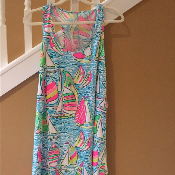 e0e402d3a13bb2 Lilly Pulitzer Dresses | Melle Dress In You Gotta Regatta | Poshmark
