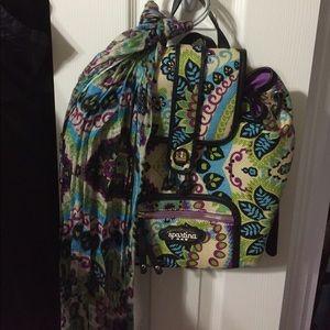 Spartina 449 Handbags - Spartina 449 backpack and matching scarf