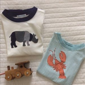 Janie and Jack Other - 2 Janie & Jack Size 6 Boys Summer Tees
