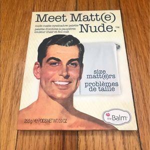 theBalm Other - theBalm Meet Matt(e) Nude Eyeshadow Palette