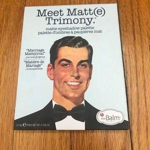 theBalm Other - theBalm Meet Matt(e) Trimony Eyeshadow Palette