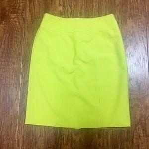 Worthington Dresses & Skirts - Chartreuse yellow green professional pencil skirt
