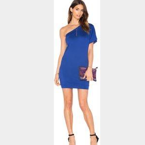 Trina Turk Britta royal blue tunic/mini dress