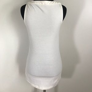 Express Tops - Express Ivory White Cream Sleeveless Blouse sz S