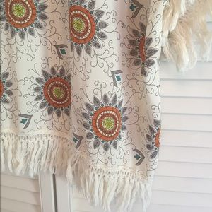 Nordstrom Tops - Daniel Rainn Boho Fringe Kimono