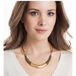 White House Black Market Jewelry - 🐠WHBM🐠 THREAD WRAP COLLAR NECKLACE NWT