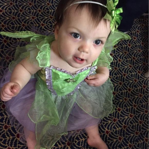 Tinkerbell Costume 12-18m BABY GIRL HALLOWEEN  sc 1 st  Poshmark & Tinkerbell Costume 1218m Baby Girl Halloween | Poshmark