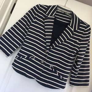 Super cute and soft striped blazer!