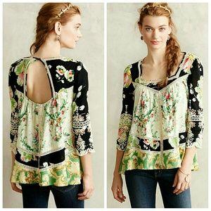 Vanessa Virginia Prateria peasant top blouse 2